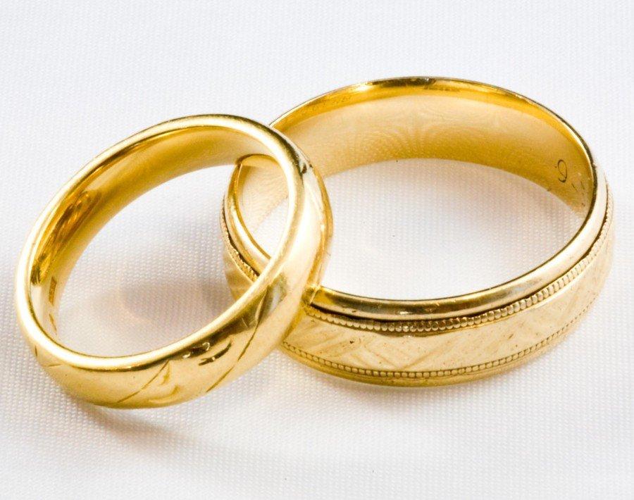 Обручальные кольца в картинках