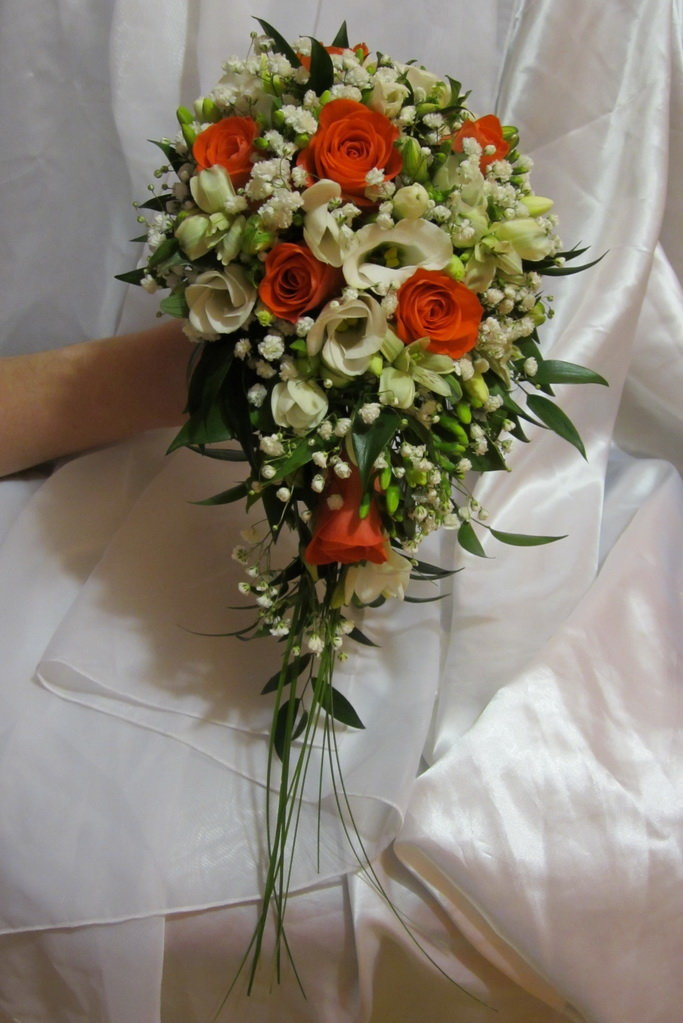 Букет капля с розами — pic 9