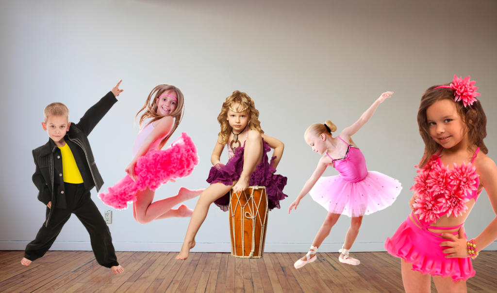 фото с танцующими детьми