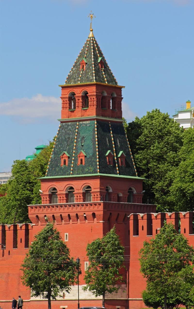 Все башни московского кремля фото и названия