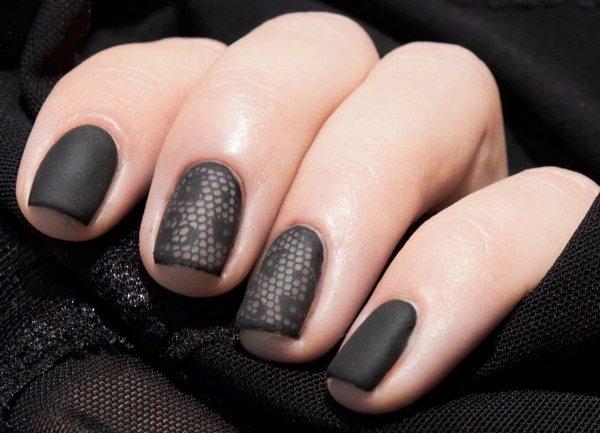 Модные ногти осень-зима новинки тренды 54 46
