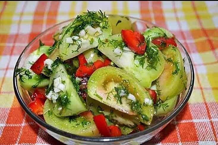 помидоры зеленые рецепты с фото пальчики оближешь