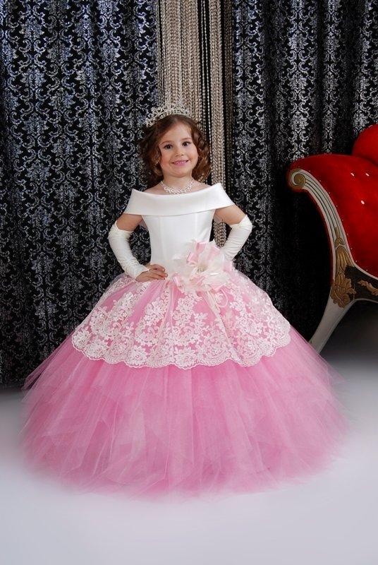 красивое пышное платья для девочек