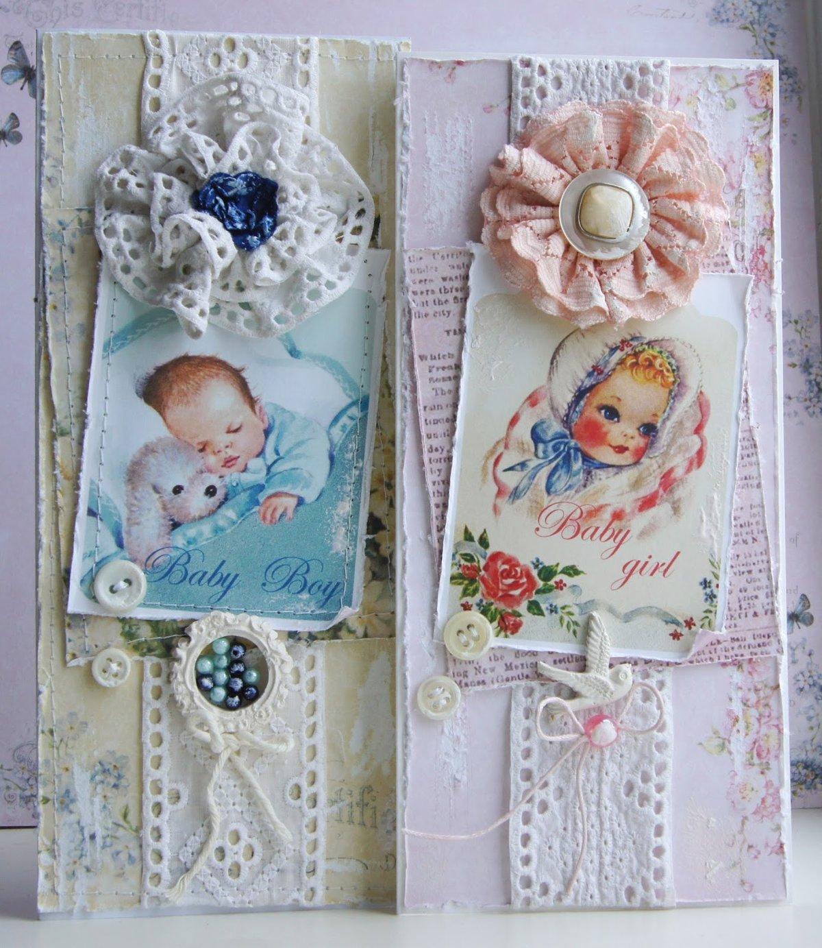 Открытки конверты скрапбукинг мк с новорожденным, для