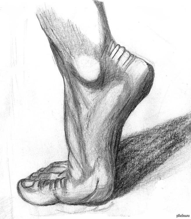 Картинки рисованные ноги