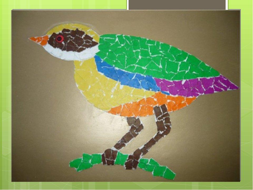 Мозаика бумажной мостовой поделка поздравительная открытка, сделать открытку