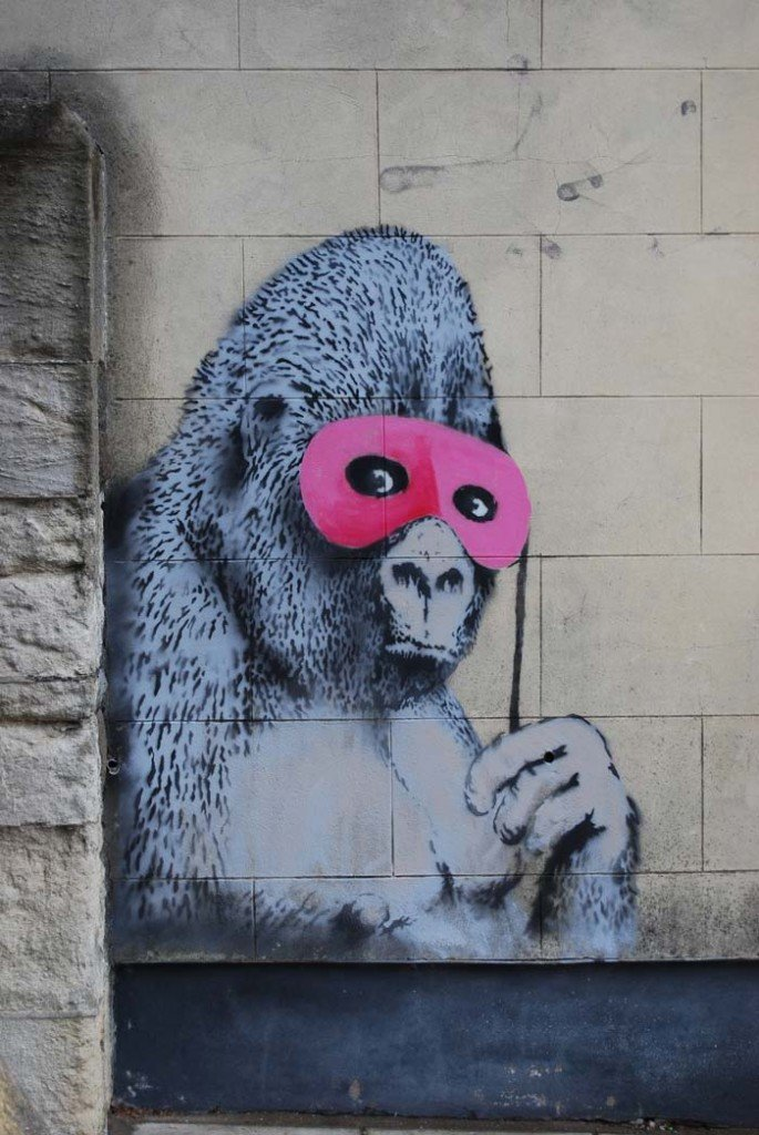 Граффити в масках картинки