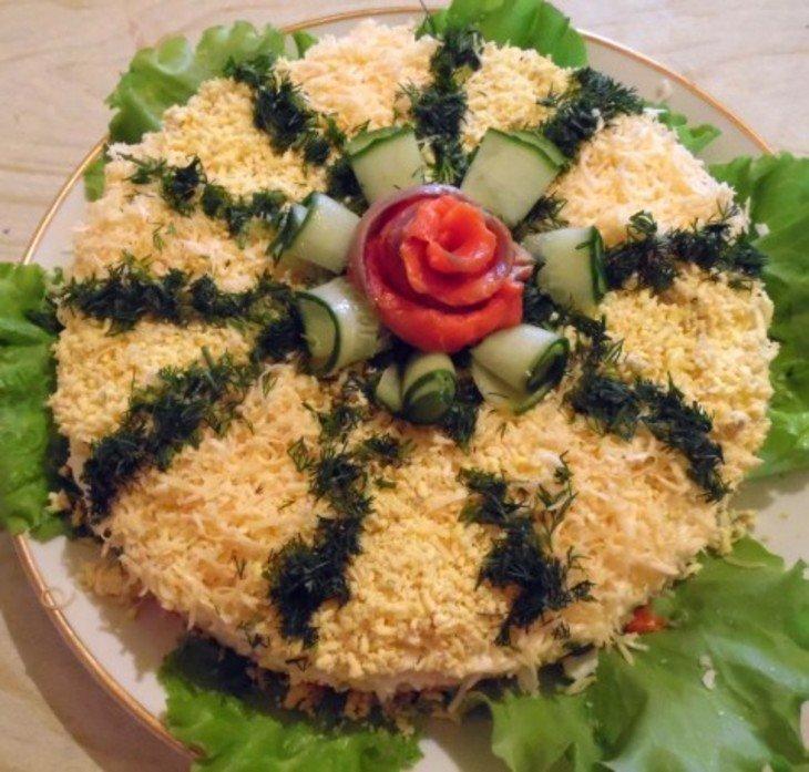 рецепты салатов на день рождение с картинками святого