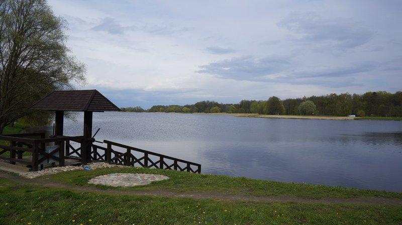 залив реки