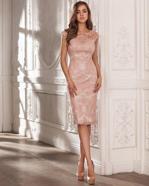 604e9136f95 Самые красивые розовые платья Модные розовые платья 2017-2018 - фото идеи