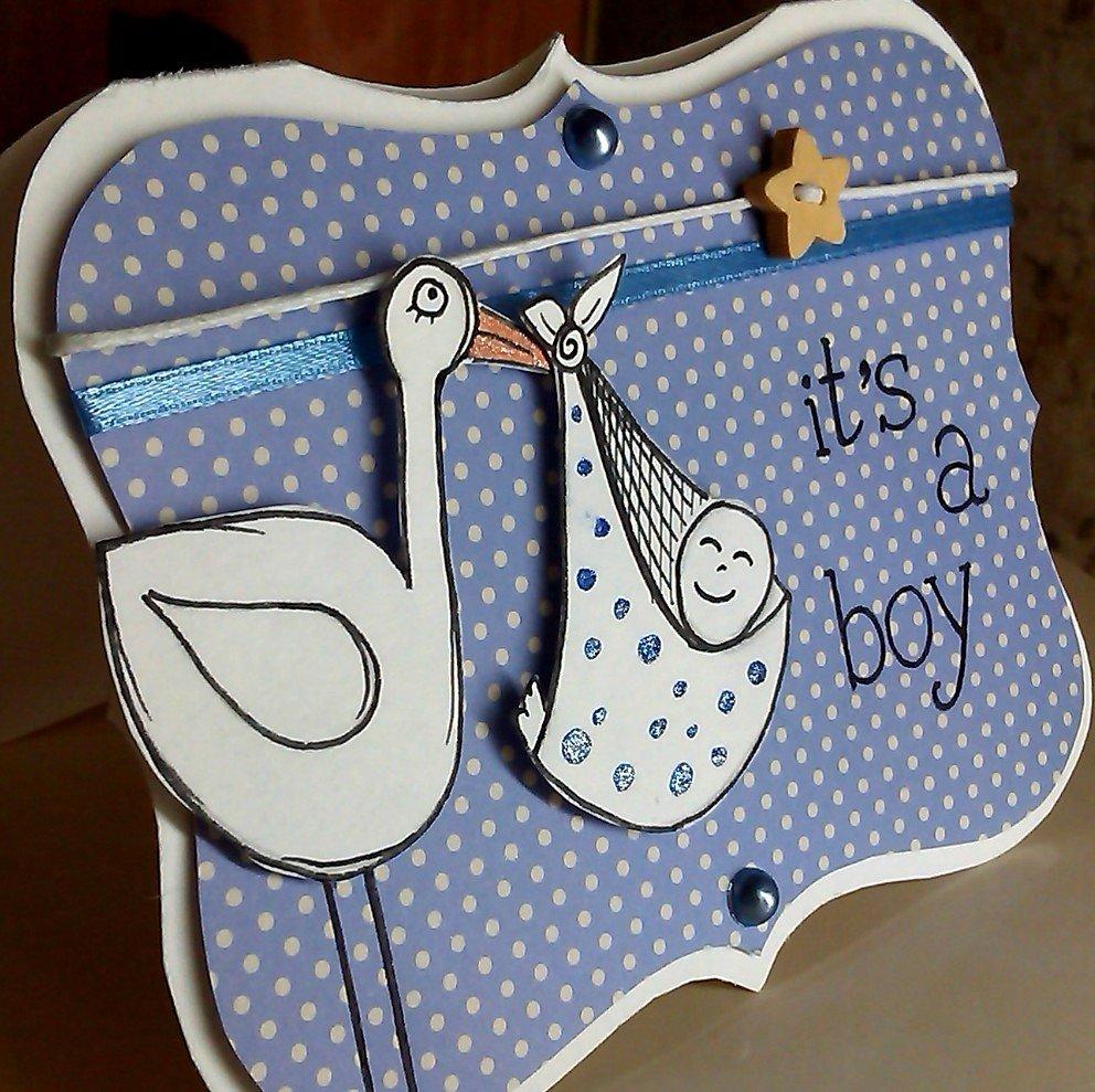 Сделать открытку с рождением ребенка, надписью