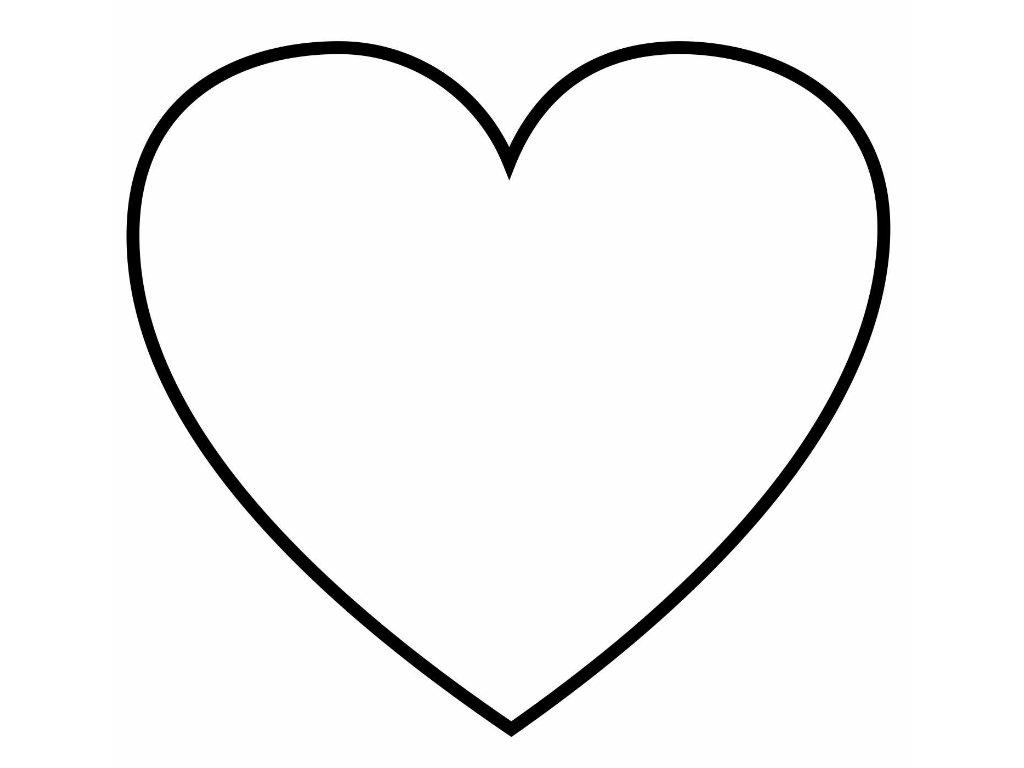 Шаблон картинки с сердечками