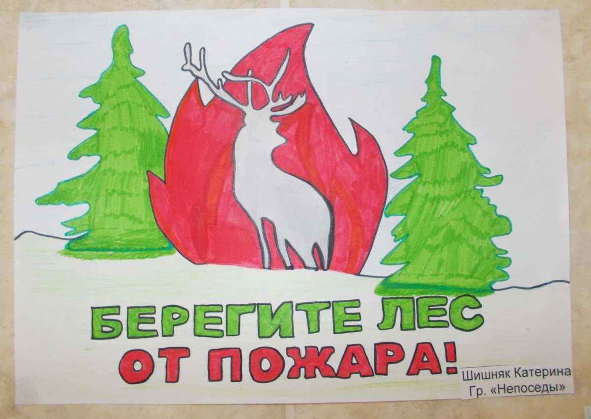 Плакат по защите природы