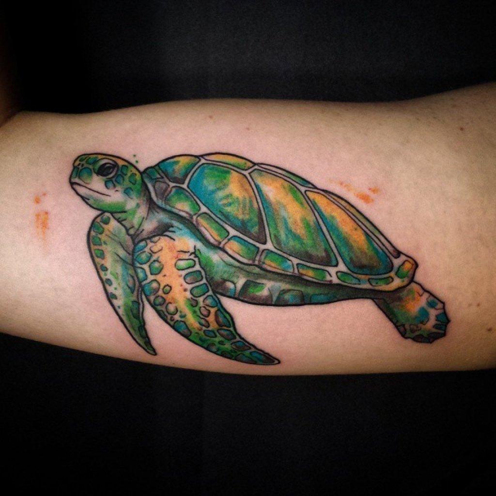 85 best sea turtle tattoo designs amp meanings 2019 - HD1024×1024