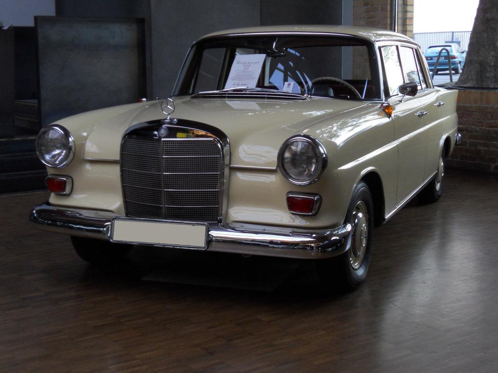 1965 mercedes 190 d