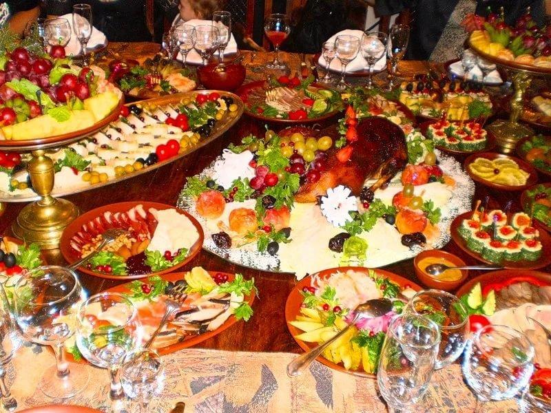 Открытка праздничные столы на день рождения фото, картинки схемы открыток