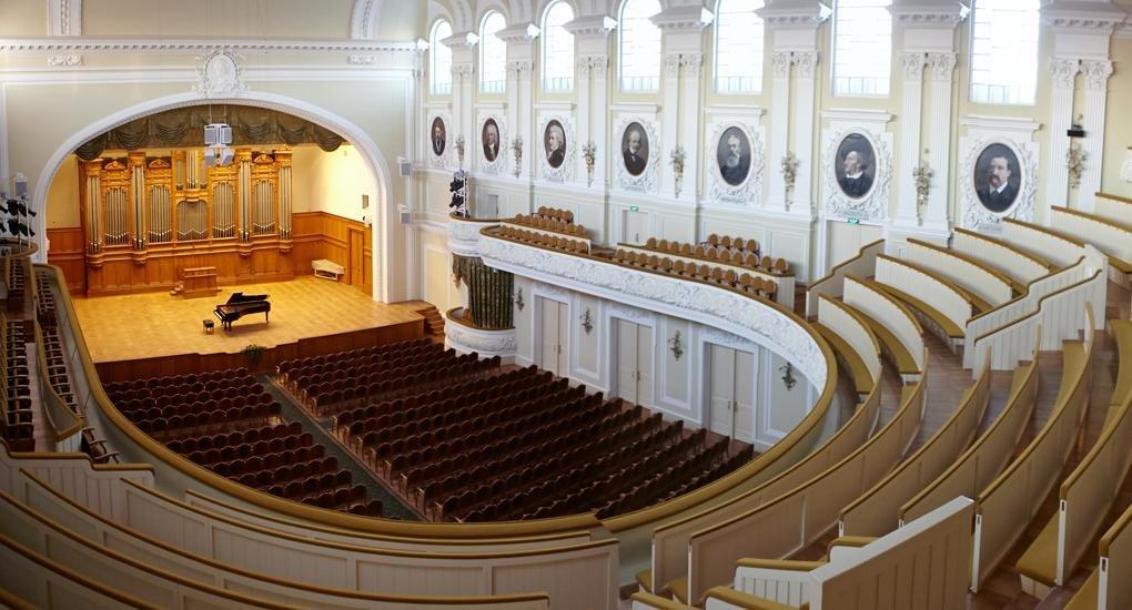 20 апреля 1901 г. Торжественно открыт Большой зал Московской консерватории