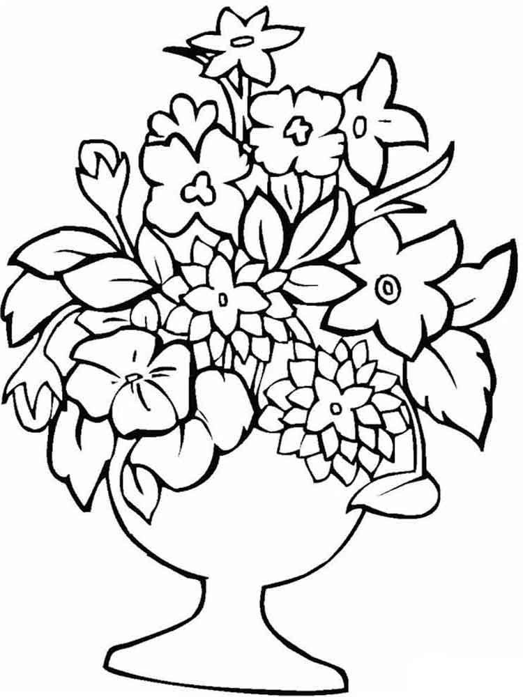 Раскраска открытка цветы, красивые мерцающие открытки