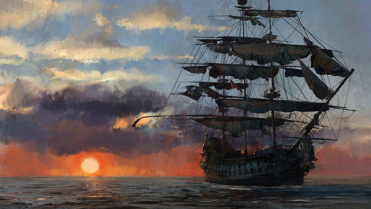 Инструкция сделать, картинки с пиратами и кораблями