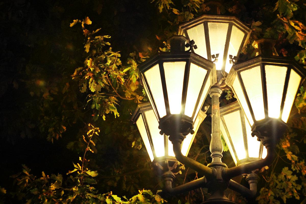 способ картинки фонарь ночью сильно отличаются