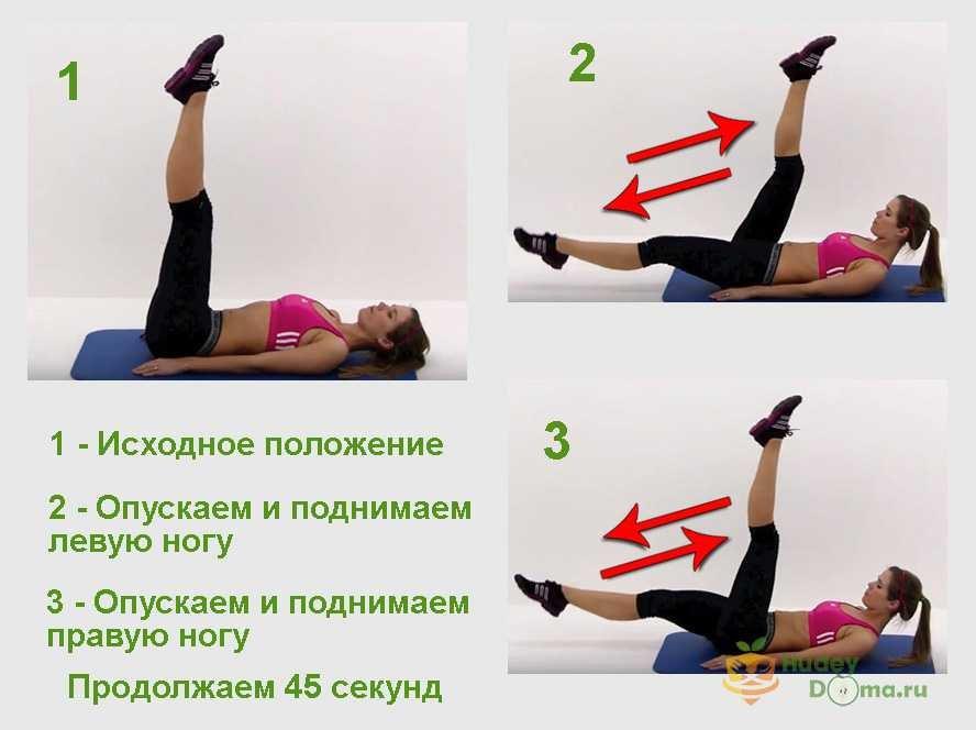 упражнения для боков в картинках дома могут