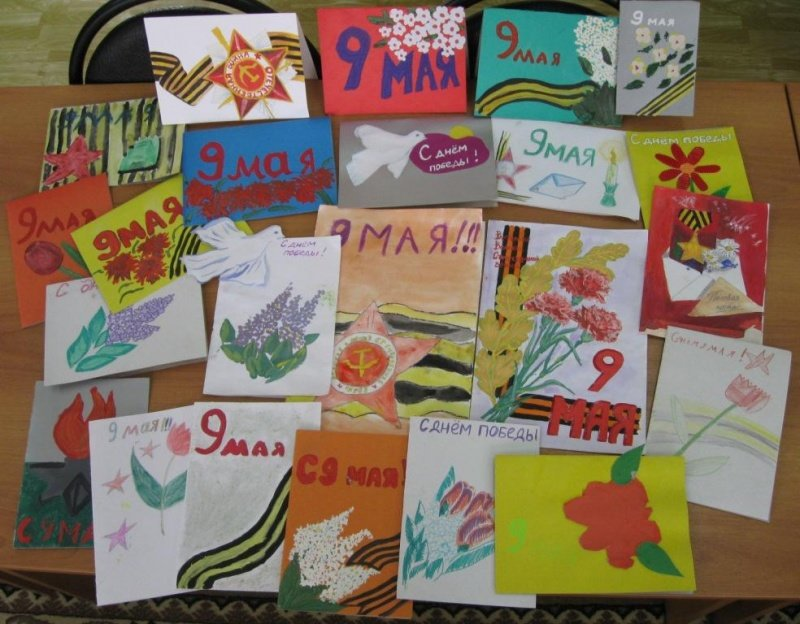 Лучшие открытки к 9 мая выбрали на конкурсе трк