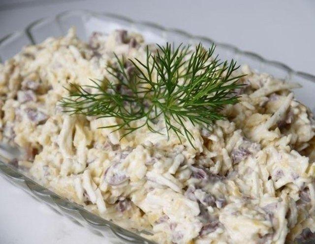 пальто салат из говяжьего сердца рецепт с фото чупакабр