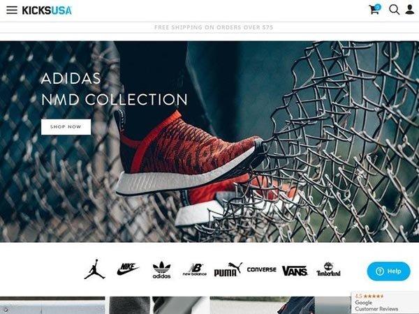516293a7 KicksUSA - американский интернет магазин спортивной обуви и одежды. В ассортименте  известные бренды Converse,