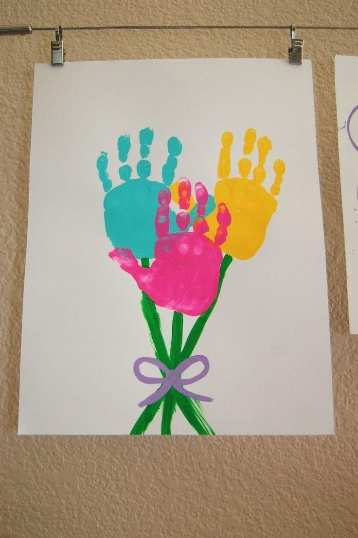 Открытка для бабушки от внука 2 года