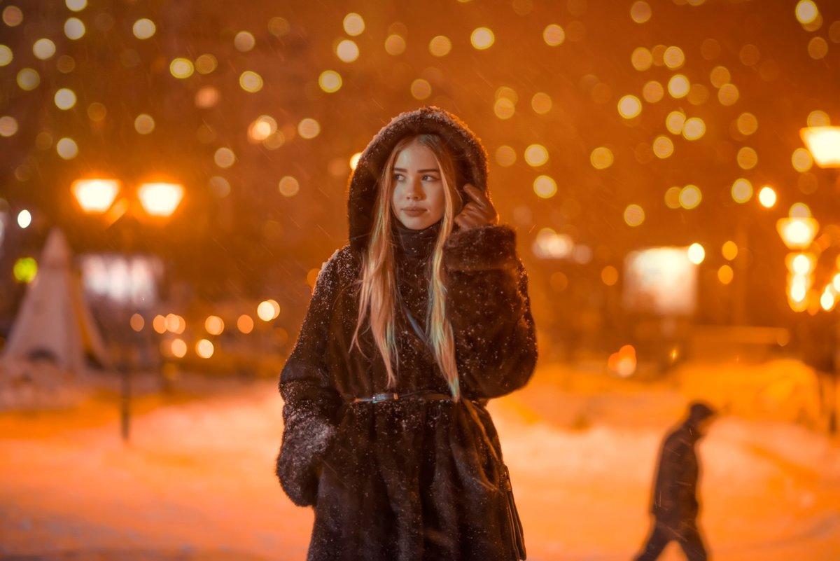 таня фото на улице зимой в городе необычные