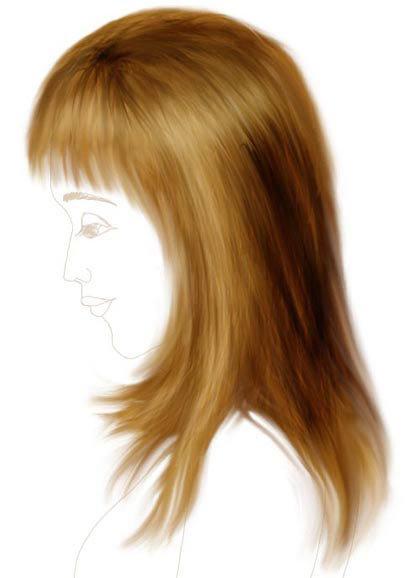 Волосы рисунки для детей