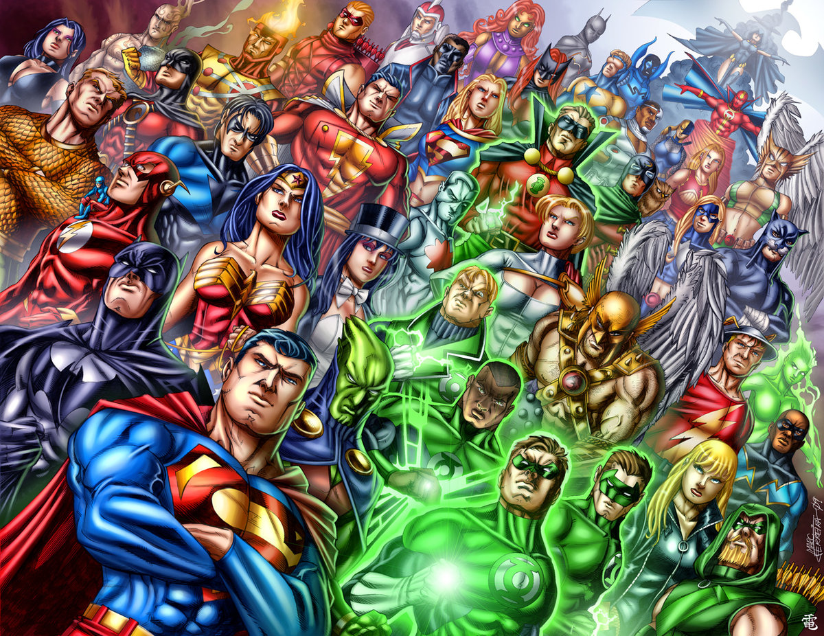 супергероев все картинки лучше