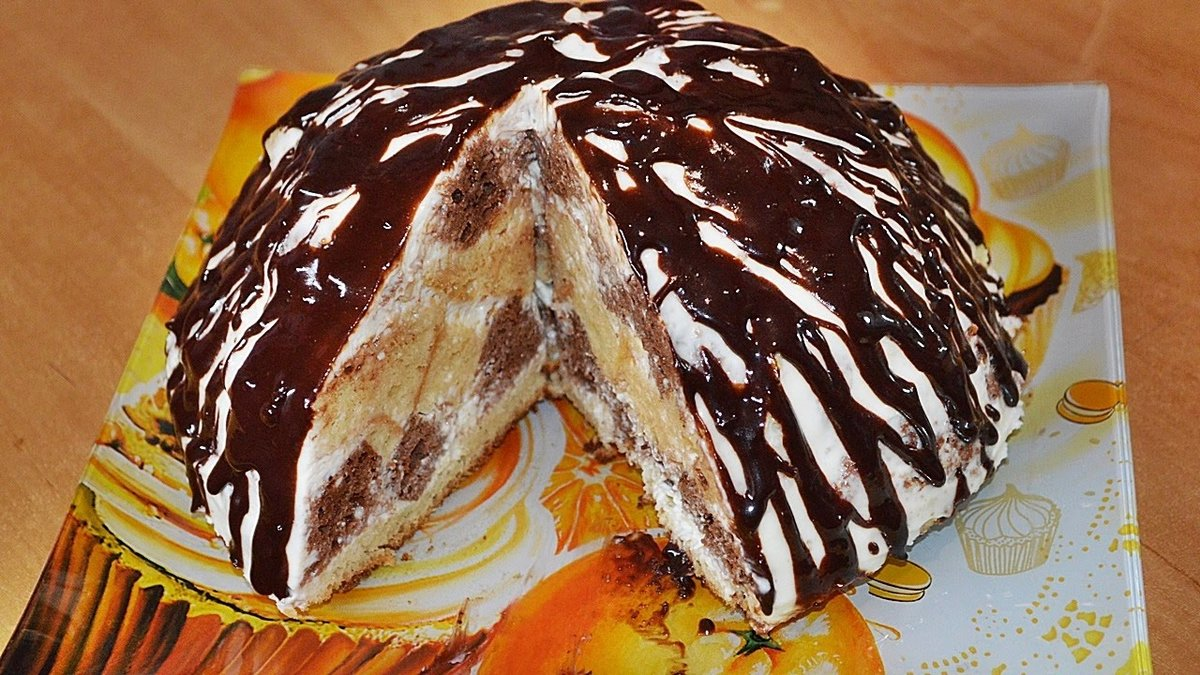 Легкий торт в домашних условиях легко