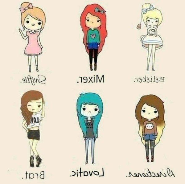Картинки смешных девочек для личного дневника