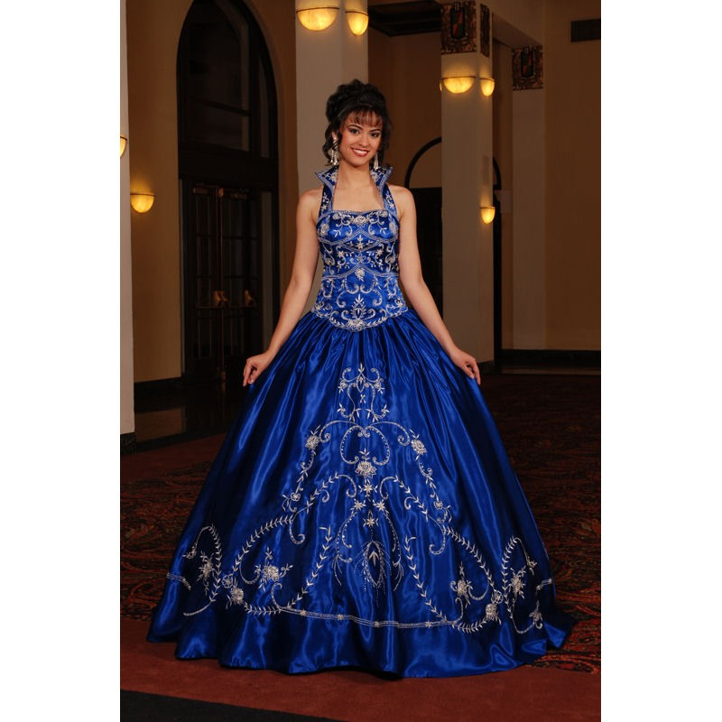 Royal Blue Wedding Dresses - Oasis amor Fashion\