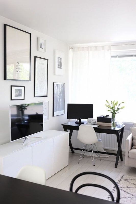 very small home office