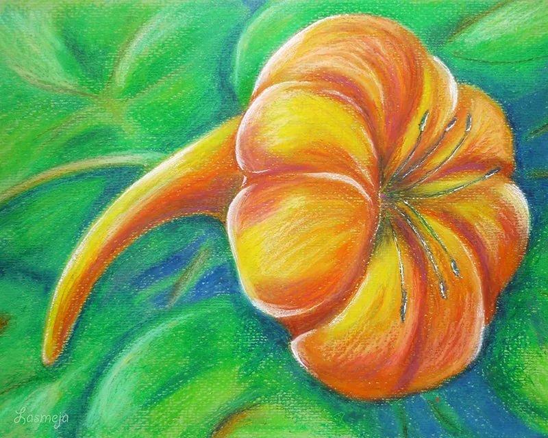 Рисунки которые можно нарисовать пастелью