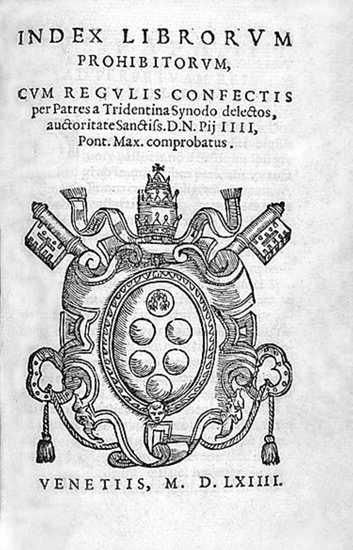 9 апреля 1966 года Ватикан официально отменил Индекс запрещенных книг