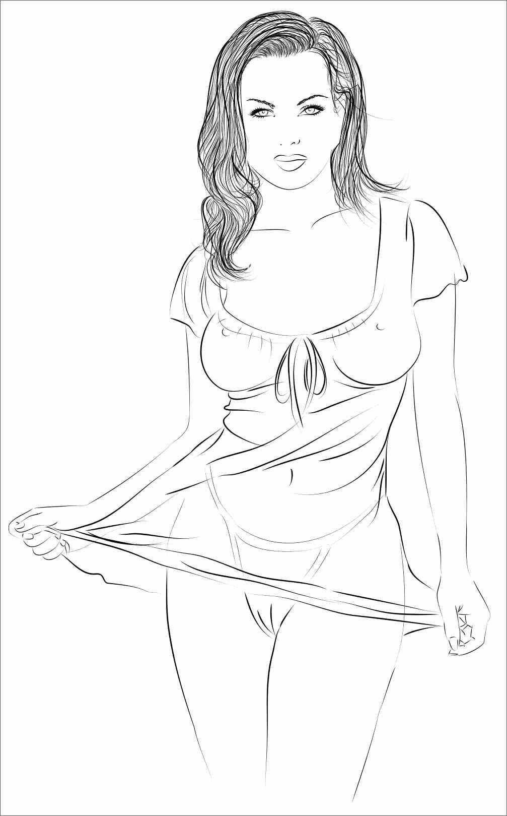 Как нарисовать женщину секси — img 15