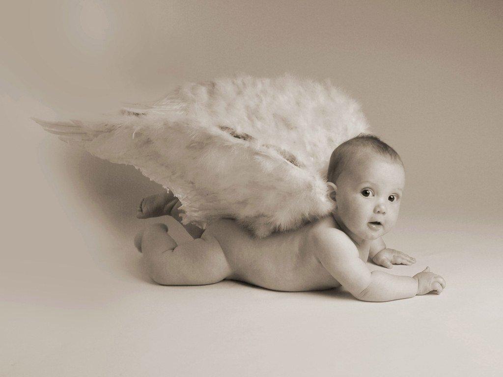 Картинки с маленькими детками ангелочками, мороз нарисованный