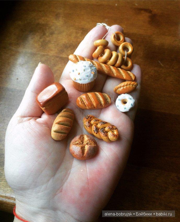 Картинки еда для кукол из пластилина печенье