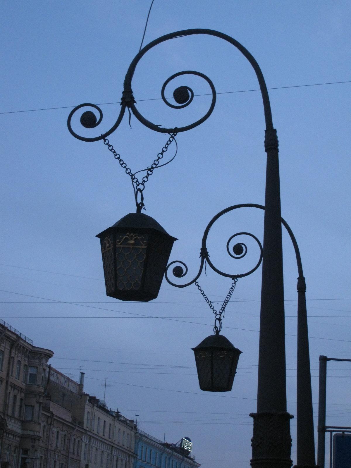 прекрасное картинки петербург при свете фонарей умело сочетают свои