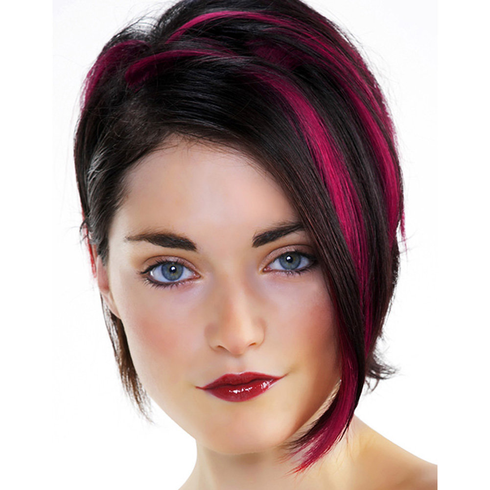 все покраска волос на темные короткие волосы фото масло натираем