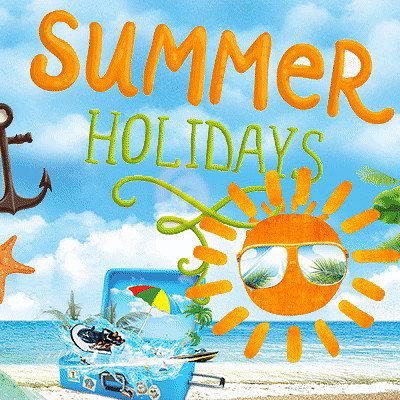 Мои летние каникулы картинки с надписями