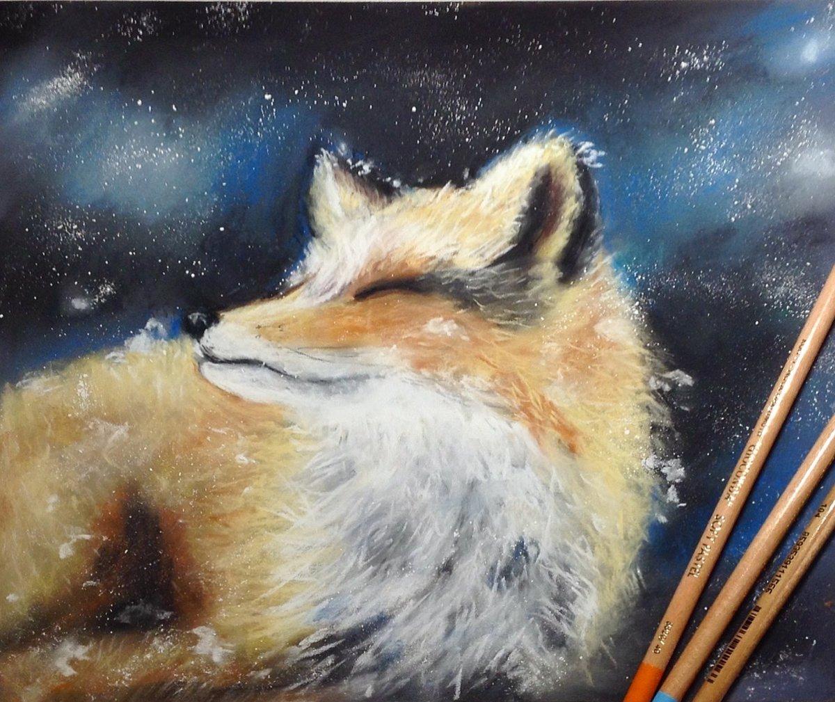 Картинка для рисования пастелью