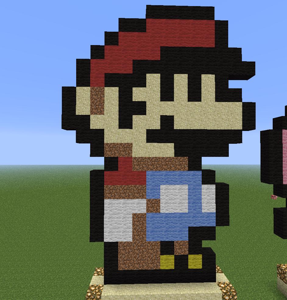 пиксель арты для майнкрафт
