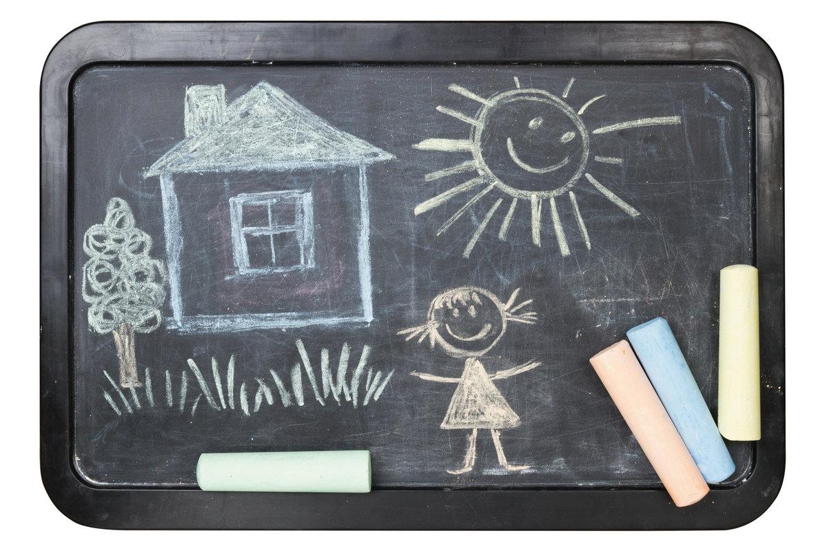 Картинки для детей доска мел