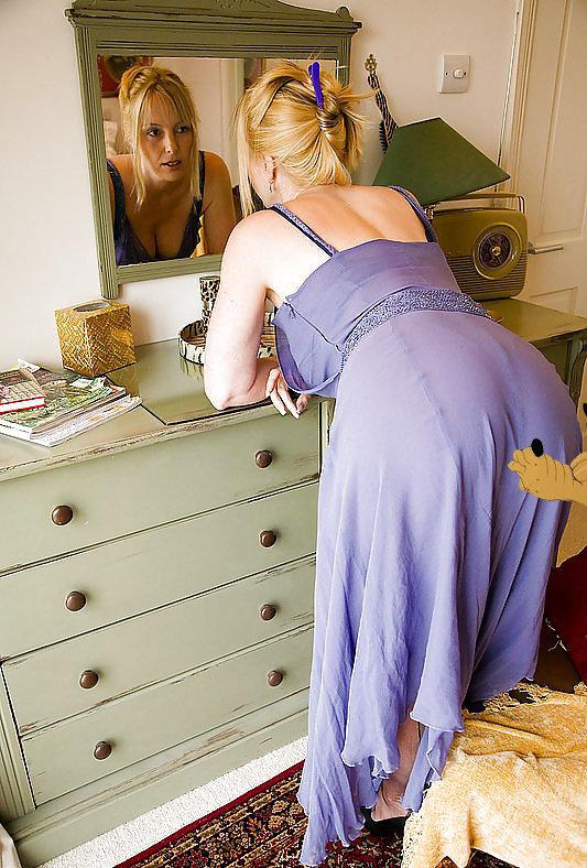 Тетя спит в платье фото