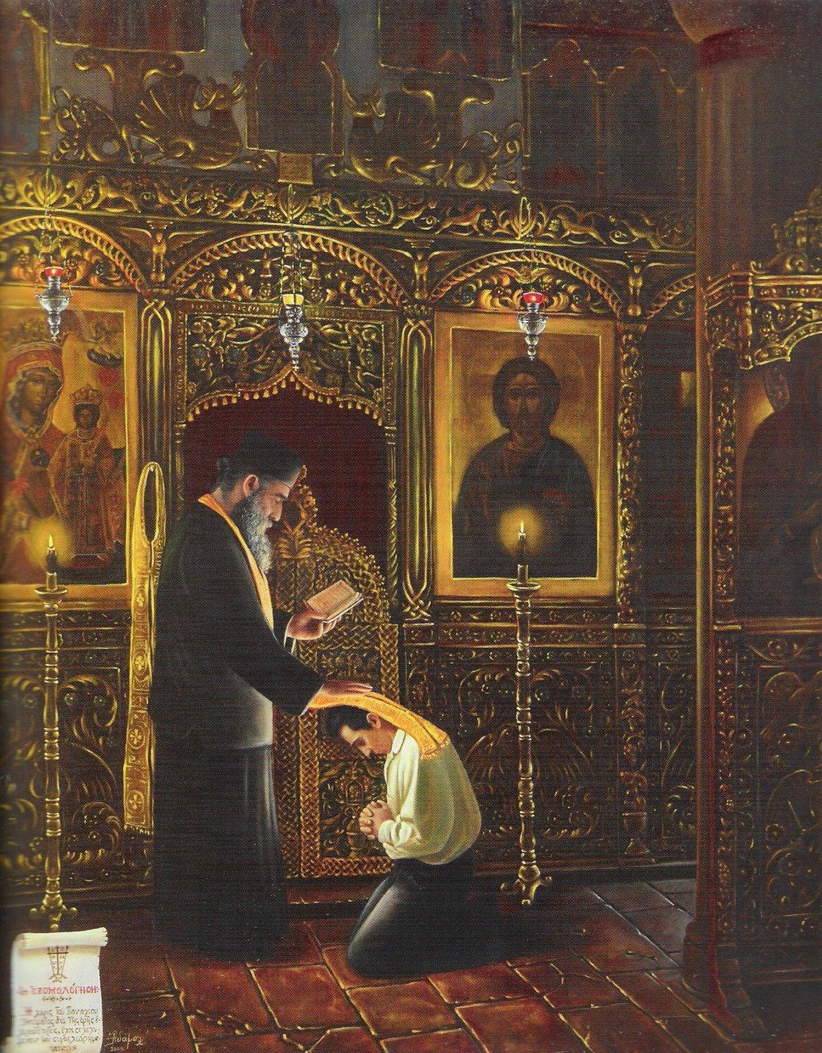 Картинки покаяние исповедь