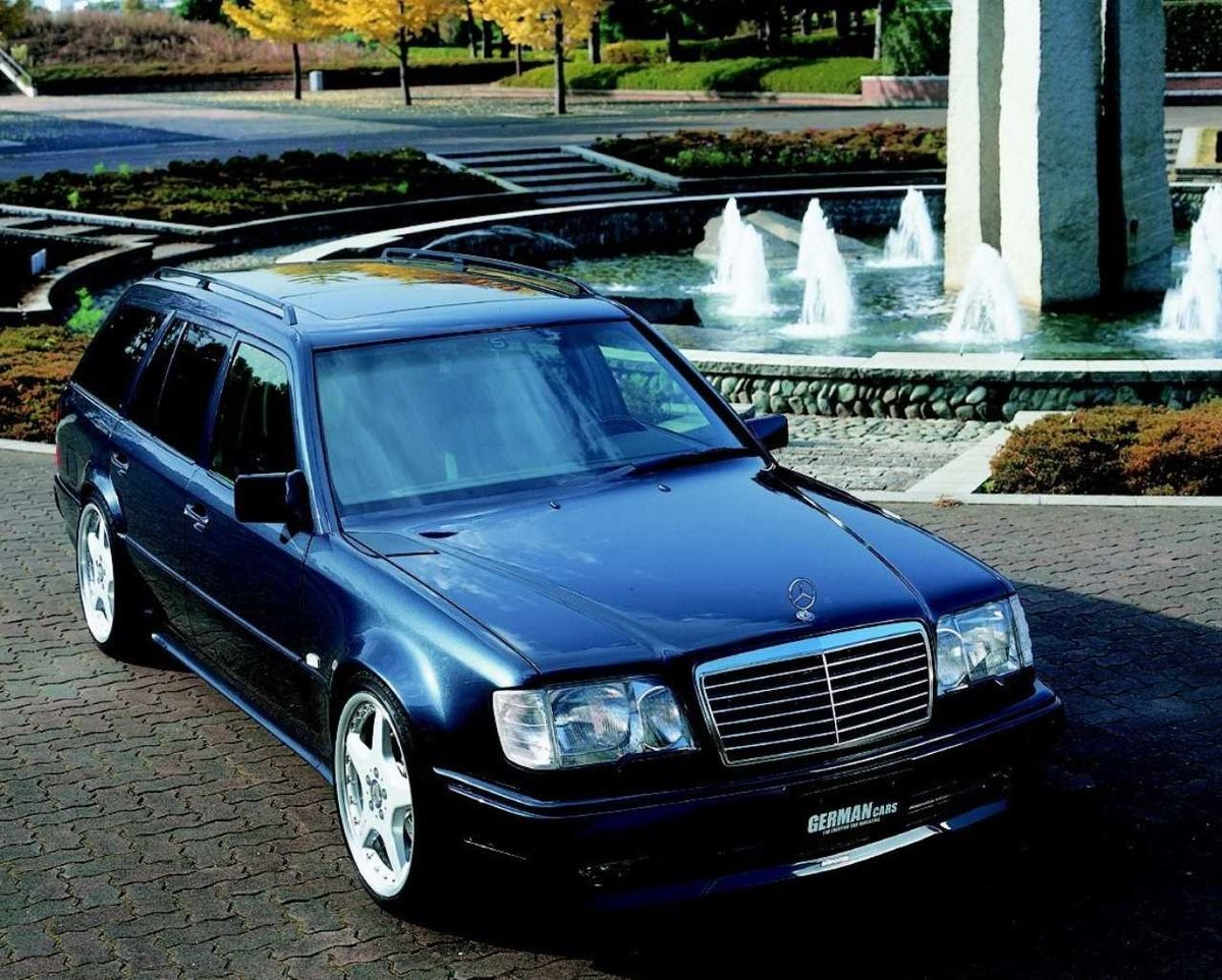 tuning mercedes w124 kombi card from user. Black Bedroom Furniture Sets. Home Design Ideas